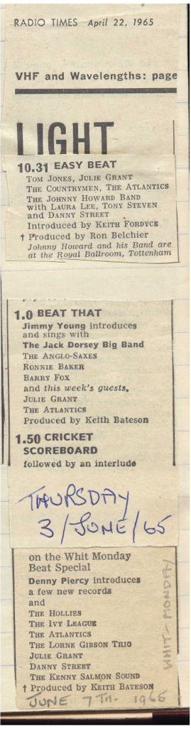 BBC Lineup 1965 3