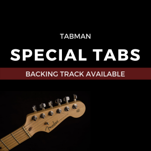 Tabman - Special Tabs (Backing Track Available)